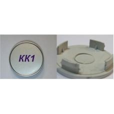 Колпачок (заглушка) литого диска KK-1 D56 Silver