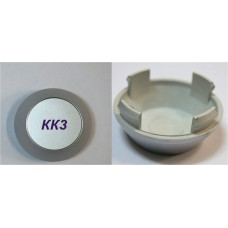 Колпачок (заглушка) литого диска KK-3 D56 Silver