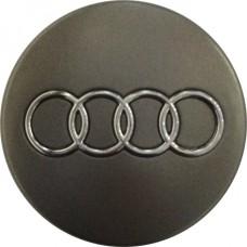 Колпачок (заглушка) литого диска Audi D56 Grafit-chrome
