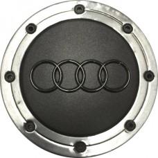 Колпачок (заглушка) литого диска Audi D56 Metal Grafit-chrome