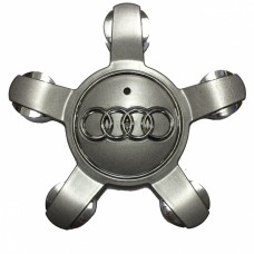 Колпачок (заглушка) литого диска Audi D135 5 ray Grafit-chrome
