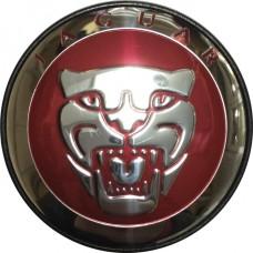 Колпачок (заглушка) литого диска Jaguar D50 Green-chrome