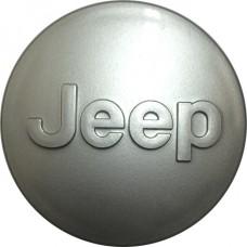 Колпачок (заглушка) литого диска Jeep D57 Silver