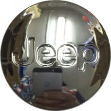 Колпачок (заглушка) литого диска Jeep D48 Chrome