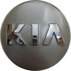 Колпачок (заглушка) литого диска Kia D51 Silver-chrome