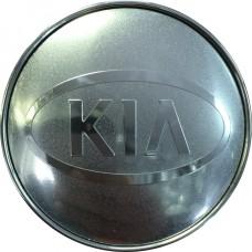 Колпачок (заглушка) литого диска Kia D56 Сhrome