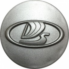 Колпачок (заглушка) литого диска Lada D55 Silver
