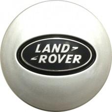 Колпачок (заглушка) литого диска Land Rover D47 Silver-black