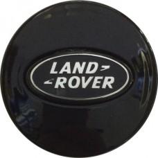 Колпачок (заглушка) литого диска Land Rover D47 Black-chrome