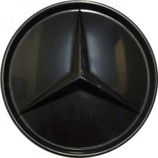 Колпачок (заглушка) литого диска Mercedes D71 Black