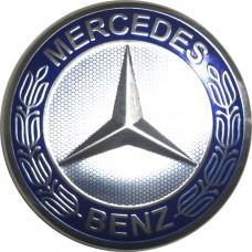 Колпачок (заглушка) литого диска Mercedes D70 Blue-chrome