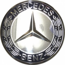 Колпачок (заглушка) литого диска Mercedes D70 Dark blue-chrome
