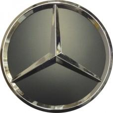 Колпачок (заглушка) литого диска Mercedes D70 Grafit-chrome