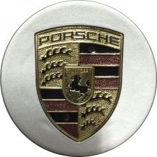 Колпачок (заглушка) литого диска Porsche D59 Silver-gold