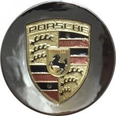 Колпачок (заглушка) литого диска Porsche D59 Chrome-gold
